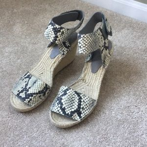 Brand Vince wedges, size 9